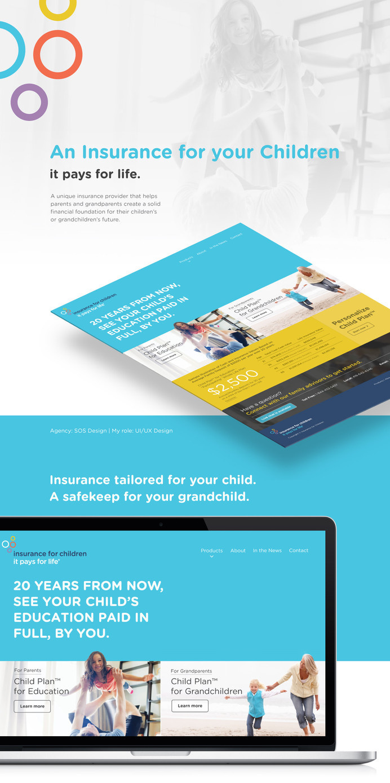 Children Insurance website #website