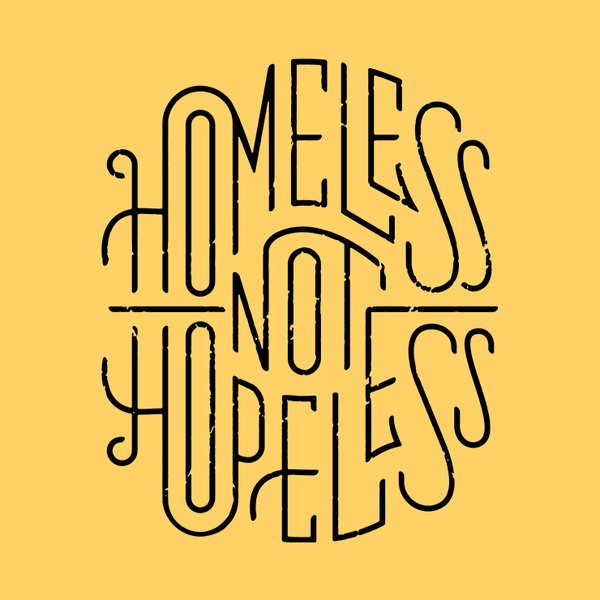 Rike Homeless #illustration #typography