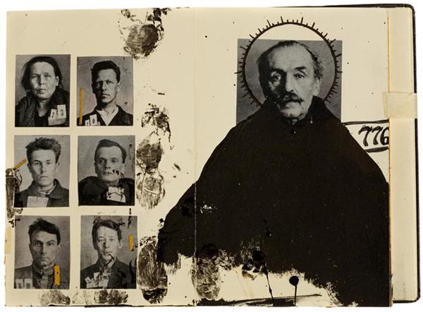 Moleskine by Juan Rayos 1 #illustration #collage #moleskine