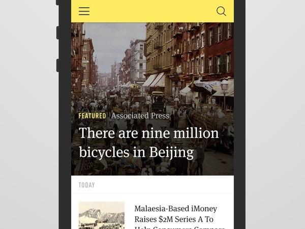 News Index #font #mobile #blog