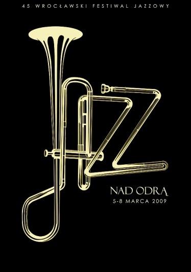 jazz.jpg 600×849 pixels #trumpet #jazz #black #horn #brass #type #typography