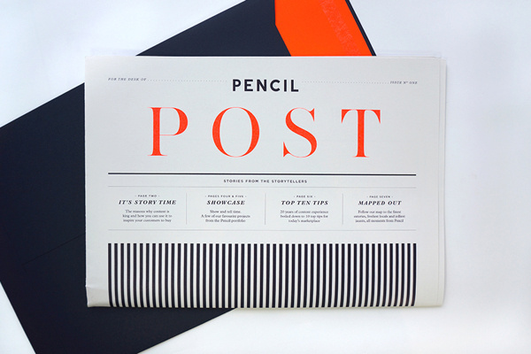 Büromarks thebackmatter: Pencil Post by Chloe Galea /... #editorial
