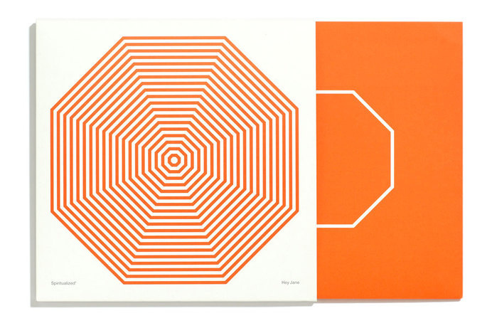 Farrow #vinyl #record #sleeve #geometric #print