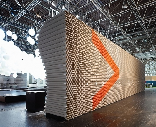 D'art Design Gruppe   123 Inspiration #cardboard #projektpilot #design #context #euroshop #tubes #dart
