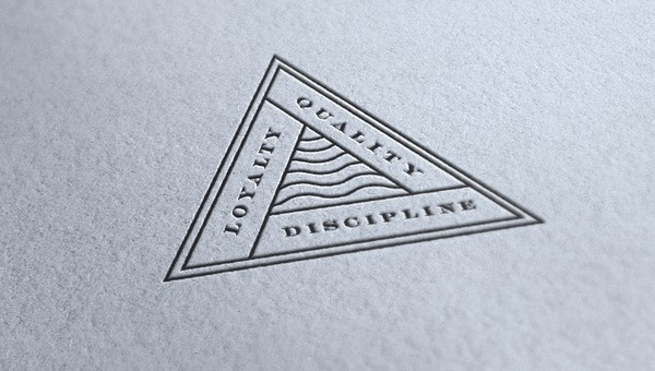 Loyalty, Quality, Discipline #typography