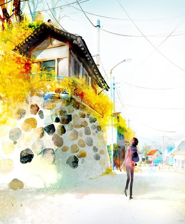 CUTE ILLUSTRATIONS BY JI HYUK KIM
