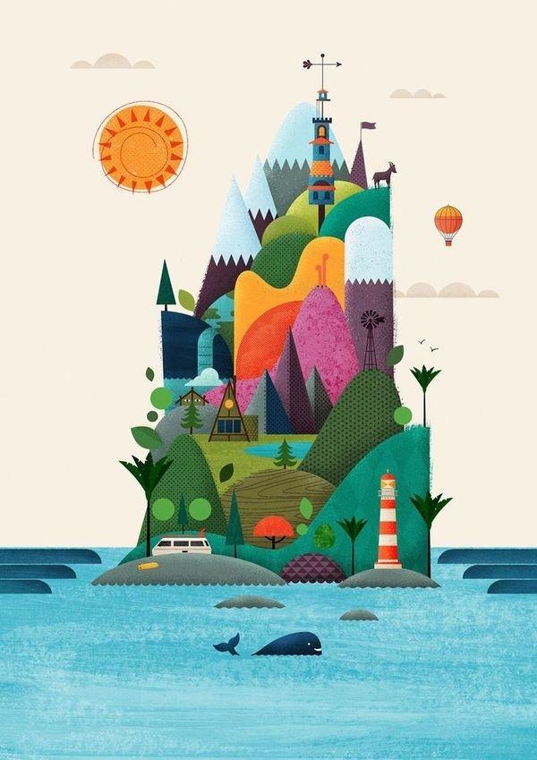New Zealand Design Yeah Brett King #island #textures
