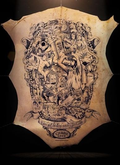 The Tattooed Poster #tattoo