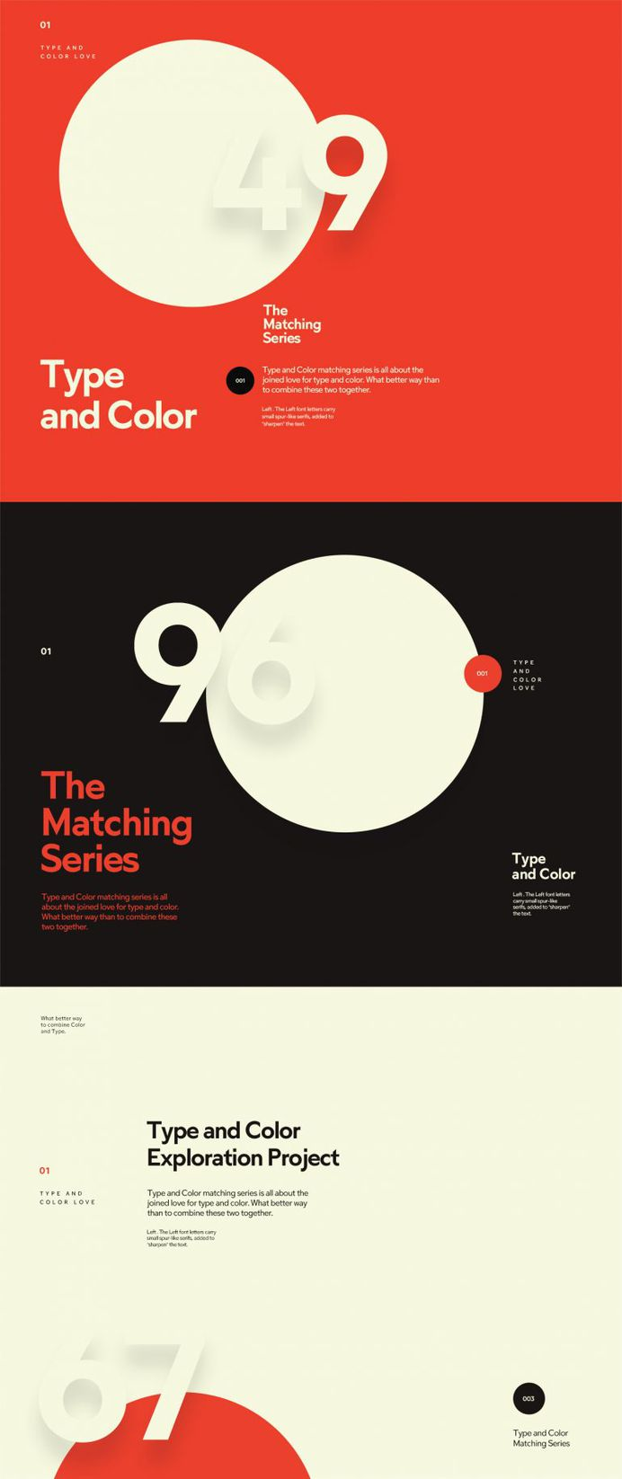 Type & Color — part 2 by Mario Šestak