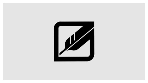 Western Pacific Railroad trademark (1979) #icon #geometry #feather