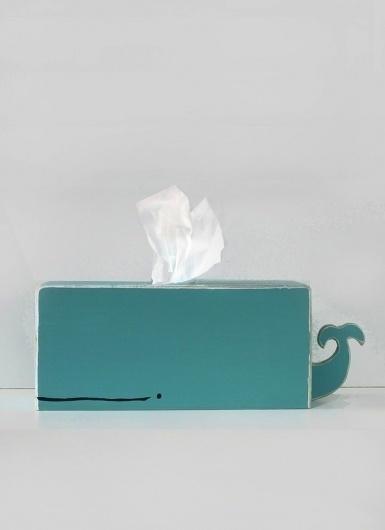 Samuel Clarke / Pinterest #creative #tissue #packaging #whale #fun