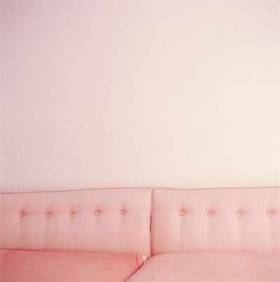 Photography(via thebowerbirds #photography #pink #sofa