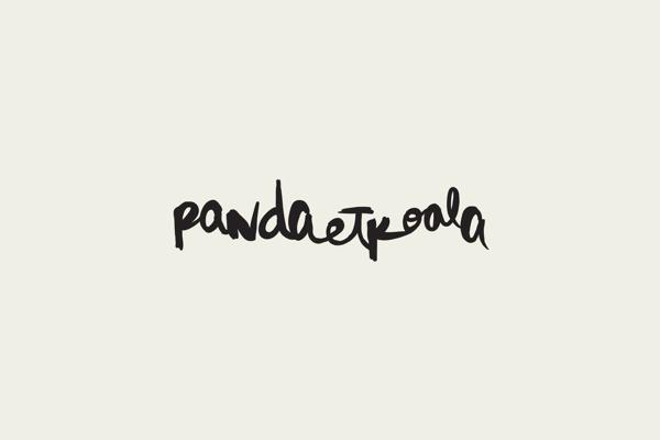 Pandaetkoala on Behance #calligraphy #naranjo—etxeberria #diego #spain #corporativo #branding #identidad #madrid #pandaetkoala #logo #etxeberria #direction #naranjo #handmade #art #miguel #media #naranjoetxeberria #social