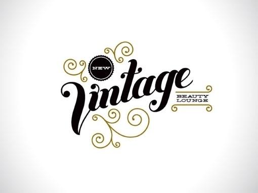 design work life » Chandelarrow Creative: New Vintage Beauty Lounge #type #vintage