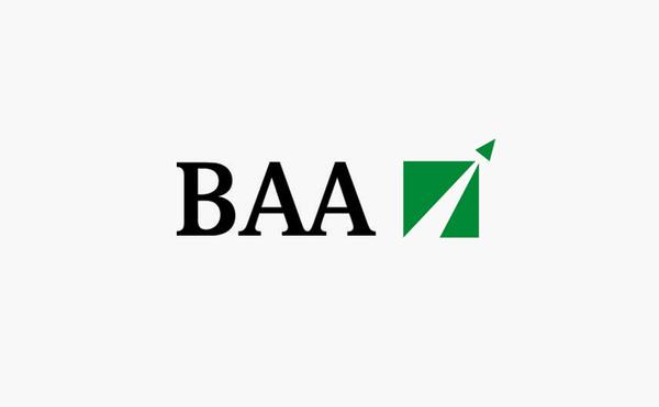 baa british airports logo design #logo #design