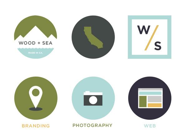 Wood + Sea Co. – Simple Icons