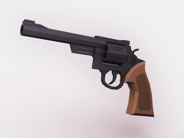Revolver 2 #gun #weapon #3d