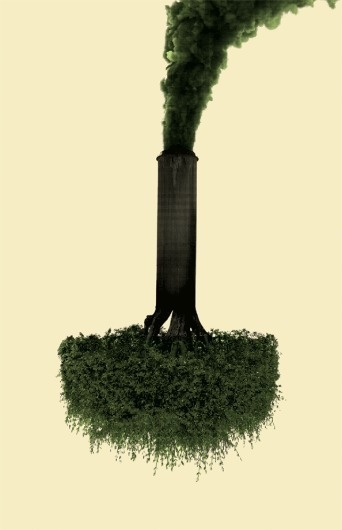Opposites Attract « Imprint-The Online Community for Graphic Designers #tree #design #poster