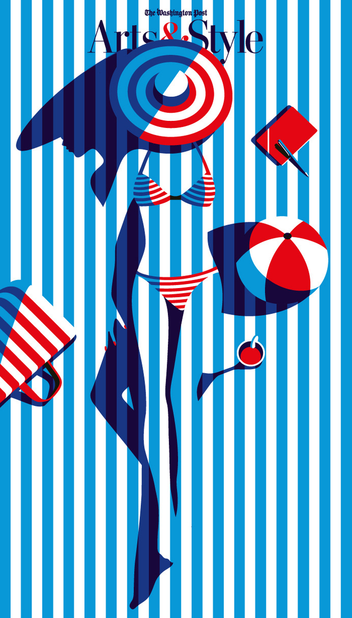 WASHINGTON POST - Malika Favre #illustration #favre #malika