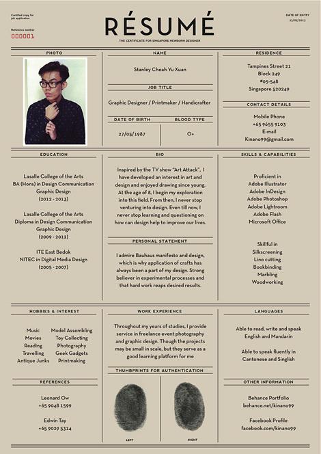 Résumé #resume