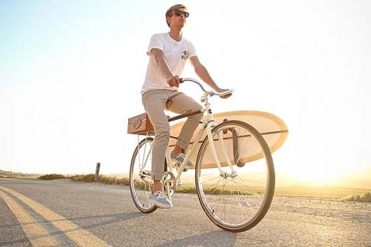 Almond X Linus Summer Bike #road #sun #surfboard #bike
