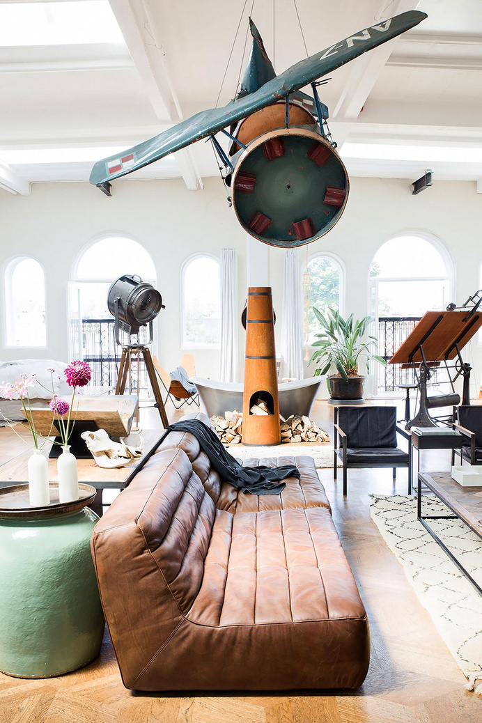 The Loft - conceptual pop-up store by The Playing Circle - www.homeworlddesign. com (5) #interior #loft #pop-up #design #interiors #store #furniture #amsterdam
