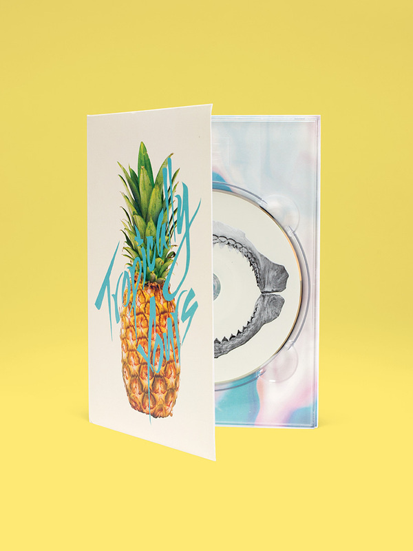 tropically yours creative direction design wedge and lever3 #design #cd #tropical