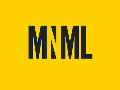 Typographic logos #logotype #yellow #negation #black