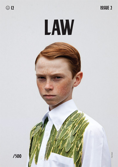 LAW Issue 2 #cover #photography #fashion #law #magazine