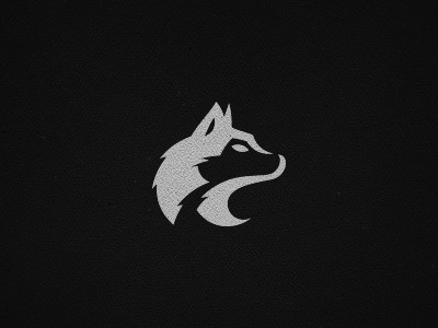 Dribbble - Wolf by Sayid #mark #logo #wolf