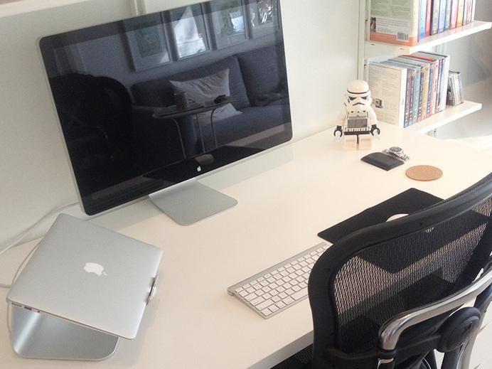 Design Workspace by Adham Dannaway #office #design #home #desk #workspace