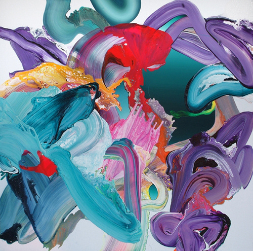 Yago Hortal | PICDIT #brushstrokes #color #vibrant #painting #art #colour