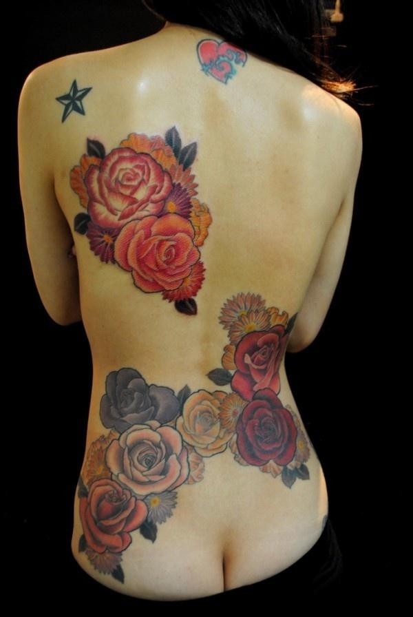 50+ Meaningful Rose Tattoo Designs #rose #tattoo #designs