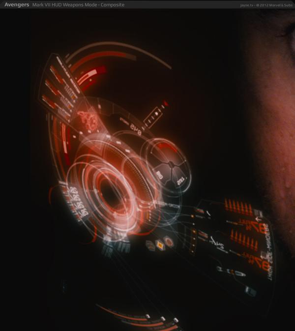 Jayse Hansen – Portfolio Site | Iron Man's Mark VII HUD #data