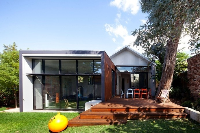 Heritage-Listed Venue with Modern Additions in Maylands, Australia #australia #architecture #modern