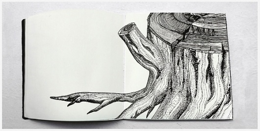Paisaje Taquigráfico on the Behance Network #diego #ink #pinzon #book #illustration #diary #editorial