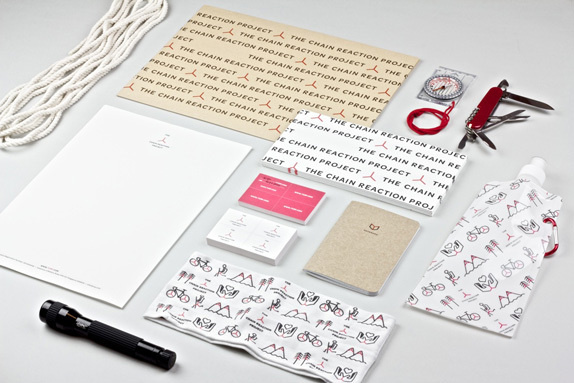 The Chain Reaction Project #arranging #design #stationary