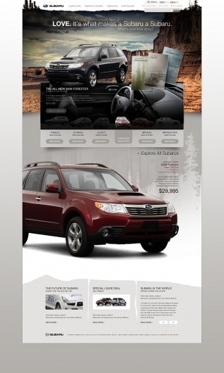 Edwin Tofslie - Creative Direction, Art Direction, Ideas, Design and Maker of Fine Jerky. #tofslie #webdesign #subaru
