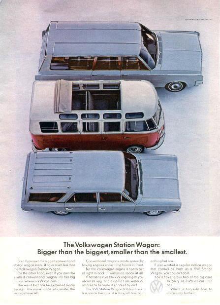 volkswagen microbus1 #print #vintage #advertising