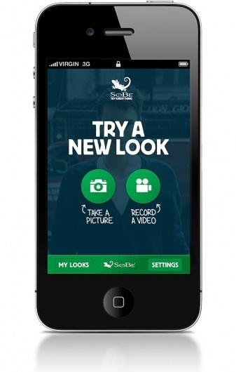 SoBe Try a New Look iPhone/iPad Application - Jackie Backer #iphone #app