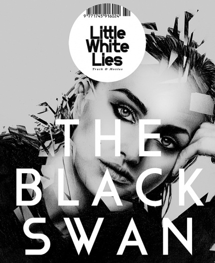 The Black Swan on the Student Show #white #swan #lies #black #little #illustration #photorealistic