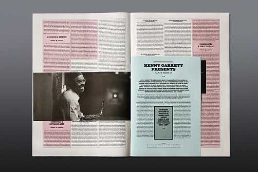 JAZZ JOURNAL 2010 on the Behance Network #print #typography
