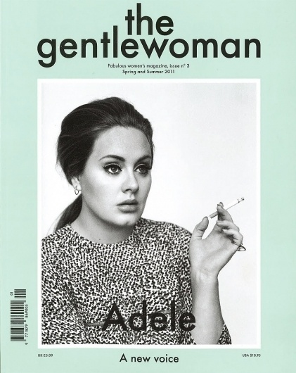 med_the-gentlewoman-no-3-adele-jpg.jpg (815×1024) #cover #magazine
