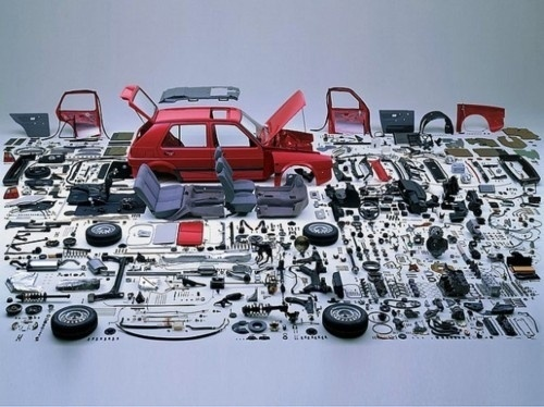 Things Organized Neatly #golf #organised #vw #disassembled