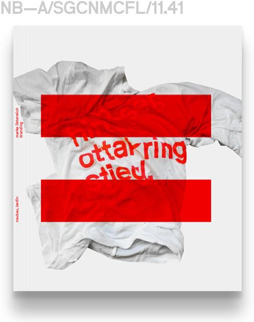 MOE Branding Book Cover #neubau #catalog