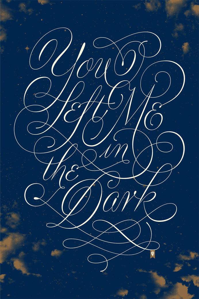 Jessica Hische - Florence and the Machine #typography #jessica #hische