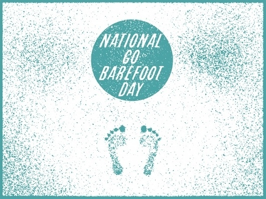 """Holidays of June, Happy """"National Go Barefoot Day""""! I know you've... #holidays #barefoot #of #go #doug #june #day #penick"""
