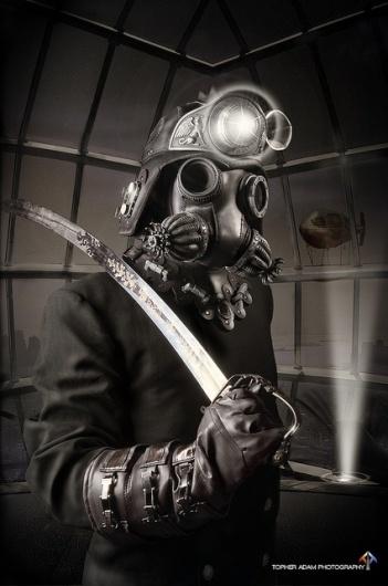 Sentinel with Sword | Flickr: Intercambio de fotos #steampunk