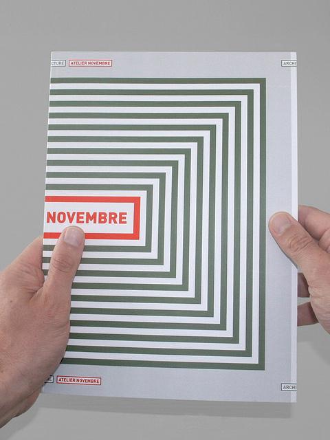 Book atelier Novembre #cover #architecture