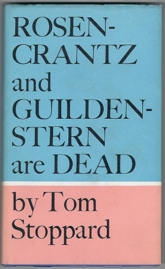 All sizes | Rosencrantz and Guildenstern are Dead by Tom Stoppard | Flickr - Photo Sharing! #cover #book #typography